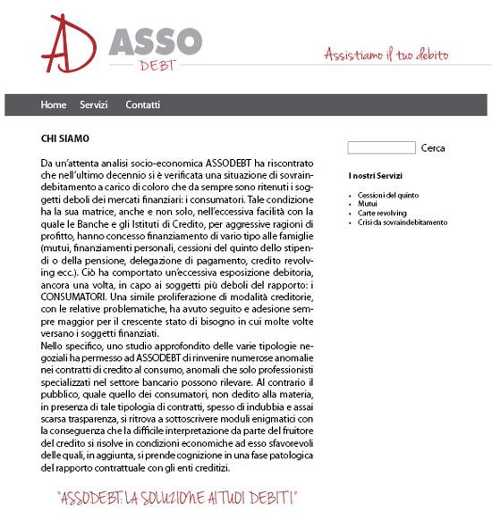 Ideazione logo e sito web